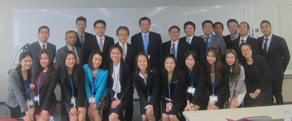 Waseda-NBTC Group Picture